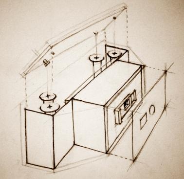 Internal Diagram for Pinhole Camera