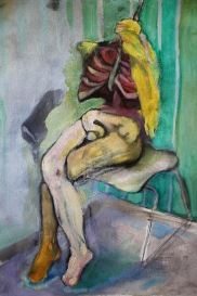Mannequin Sitting